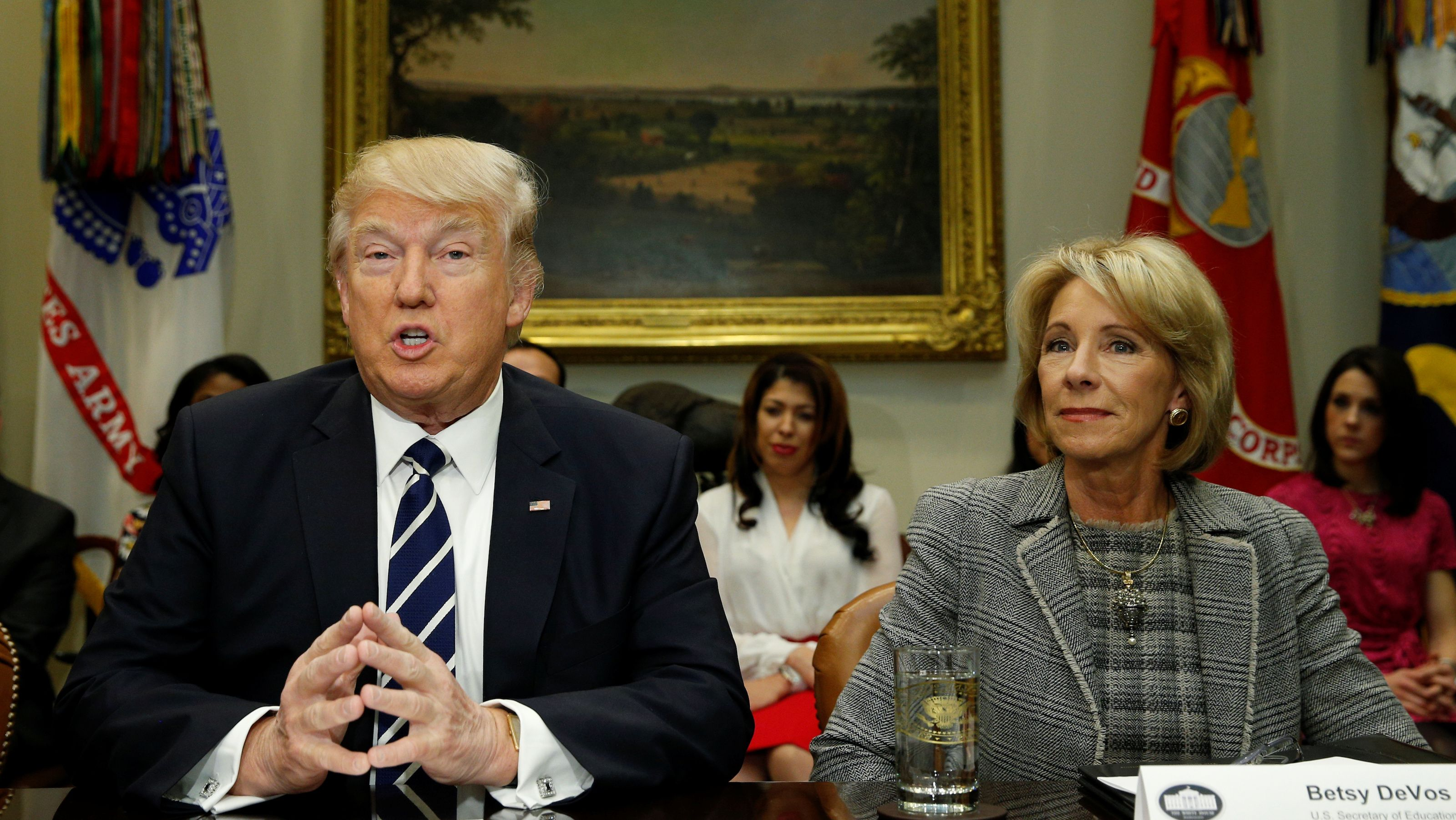 Trump and DeVos Still Want to Make Massive Cuts to Student Aid Programs