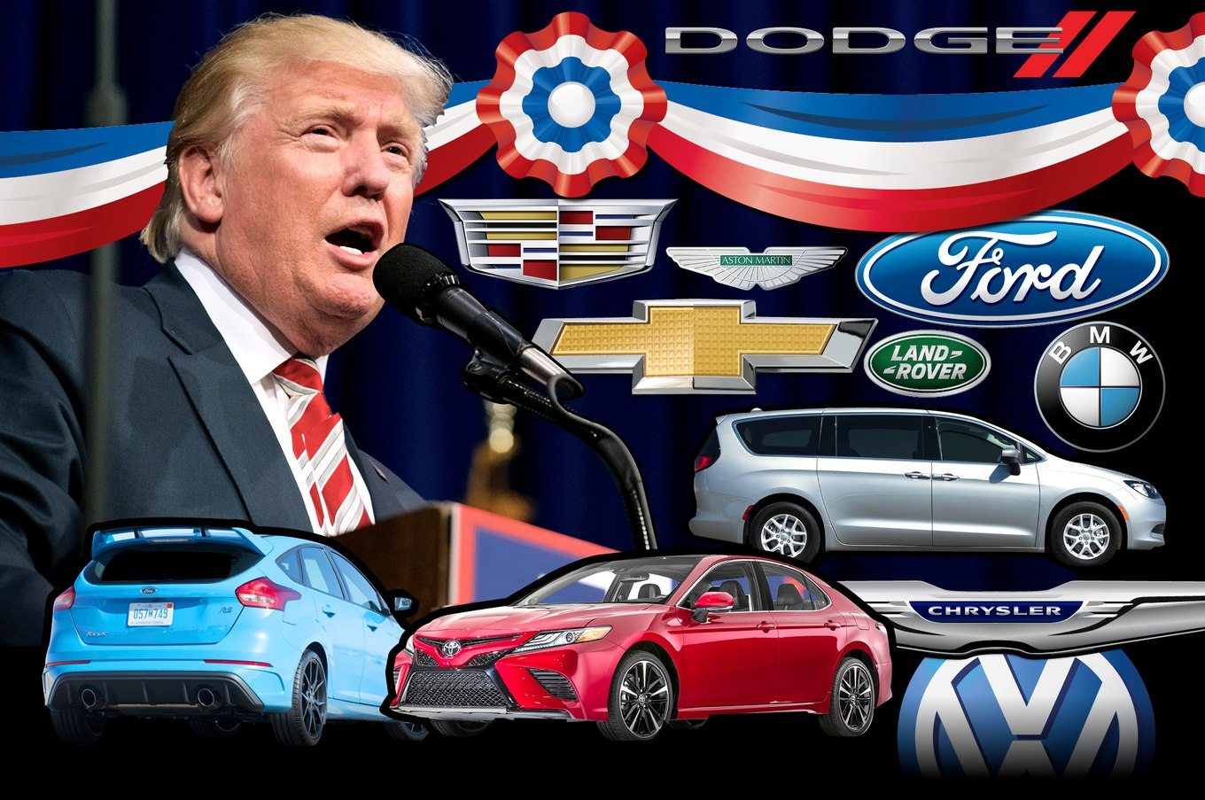 Automakers Have a Tough Message for Trump
