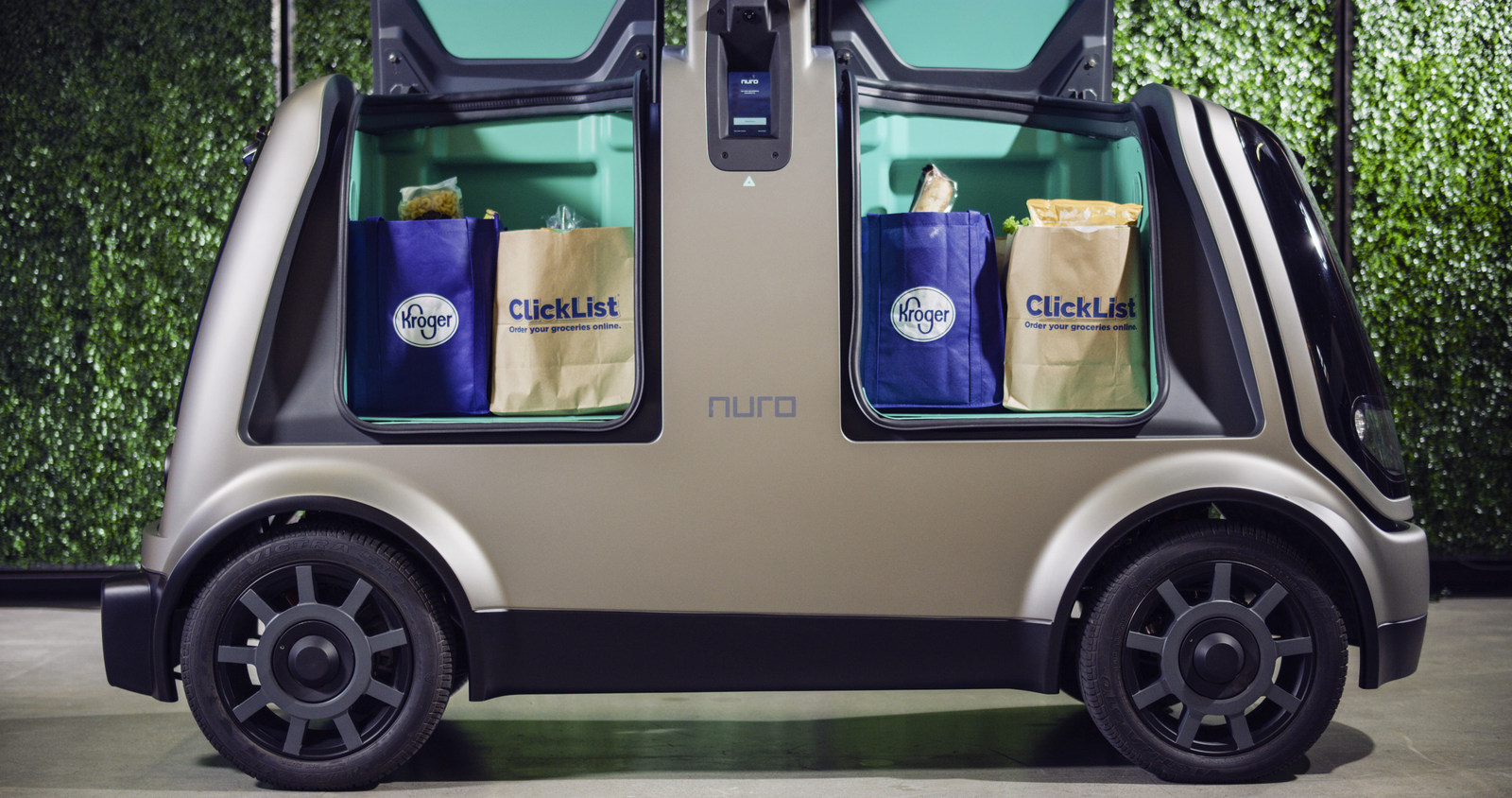 Kroger Wants to Deliver Groceries to Your Home Using Driverless Cars