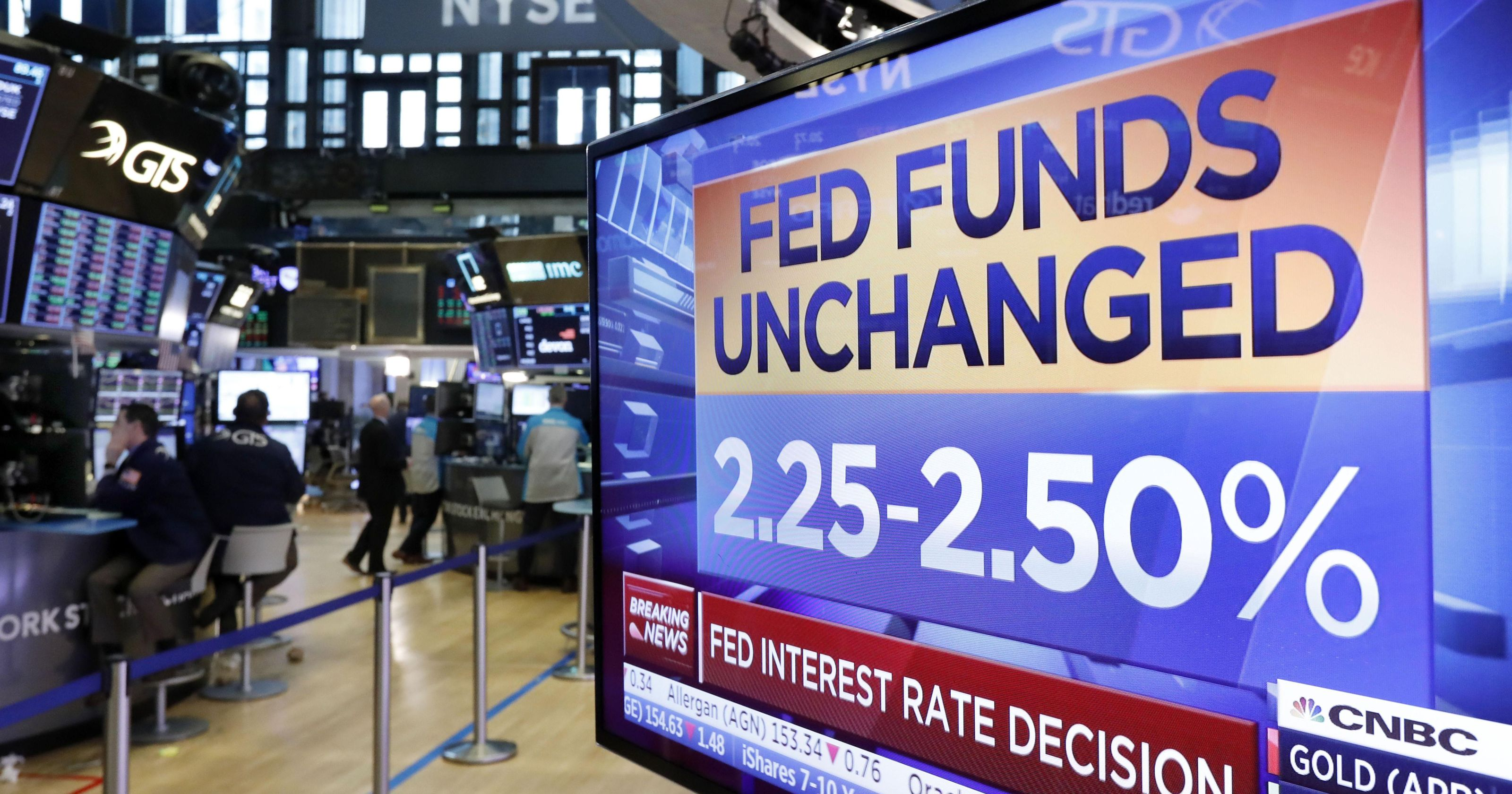 Federal Reserve Signals No Interest Rate Hike Coming in 2019