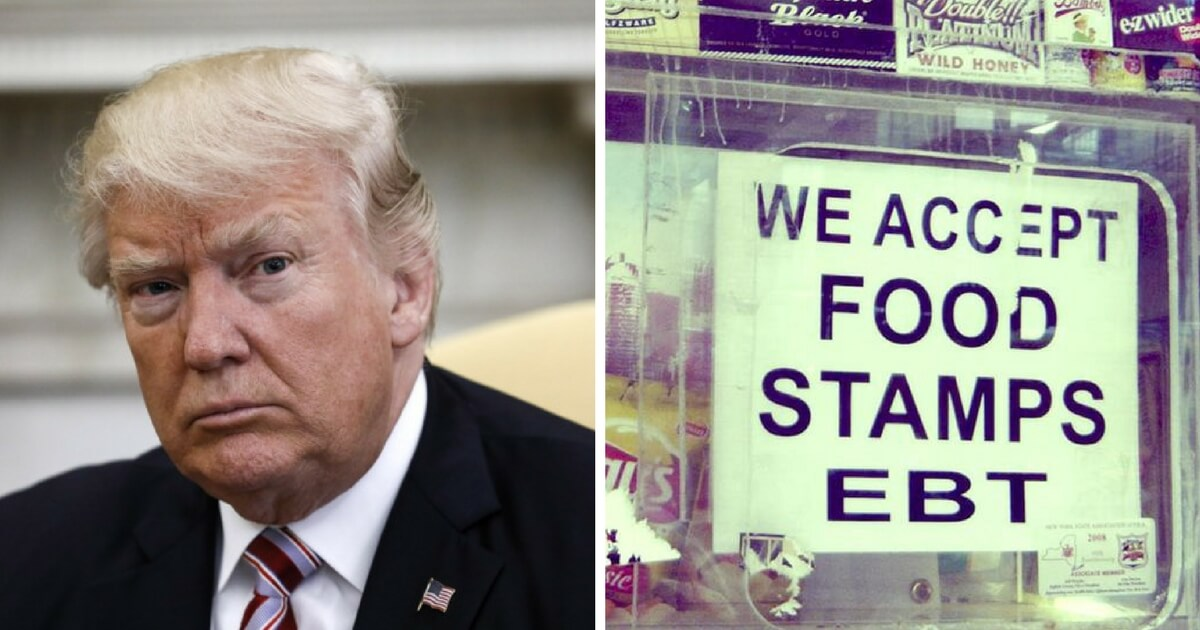 750,000 People Could Soon Lose their Food Stamps Under Trump