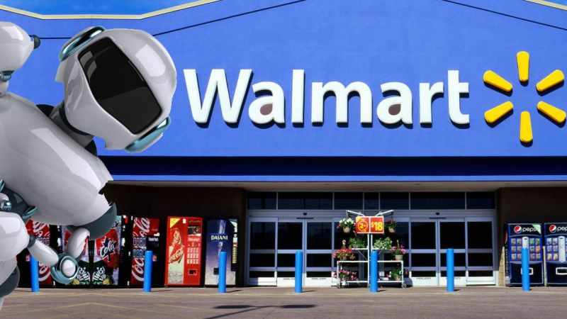 Walmart is Rolling Out the Robots