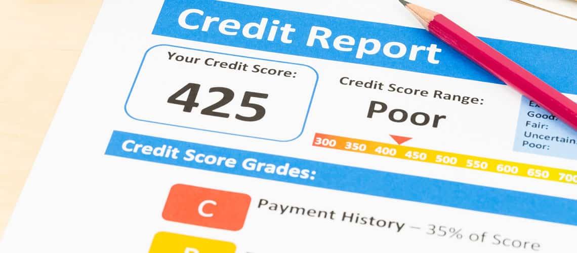 Here's the Problem with Having a Low Credit Score