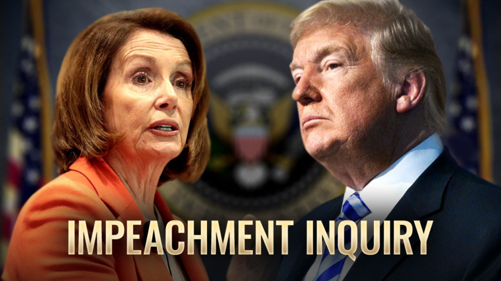 House Votes Today on Whether to Open Impeachment Inquiry on President Trump