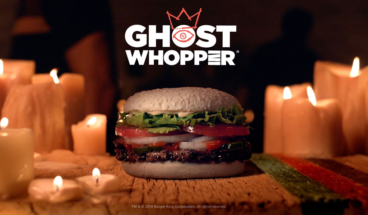 """Burger King is Now Selling the """"Ghost Whopper"""" in Time for Halloween"""