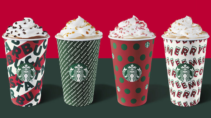 Holiday Cups Return at Starbucks This Week