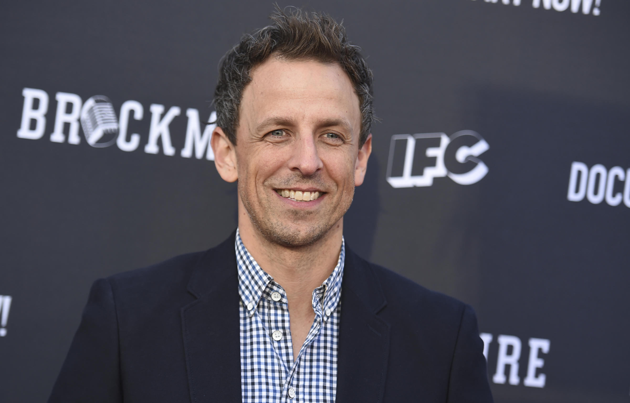 Seth Meyers Asks Netflix to Allow Users to 'Skip' Trump Jokes in New Special
